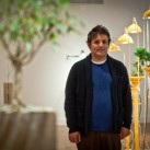 Artist Andre Woodward and his installation pieces at Montalvo Art Center | Saratoga (CA), USA