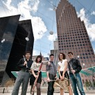 The members of Wind Sync in downtown | Houston, USA