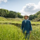 Natural farmer and educator Yoshikazu Kawaguchi at his Akame School | Akame, Japan