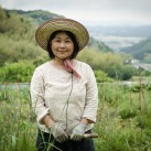 Natural farmer Etsko Kagamiyama on her farm | Itoshima, Japan