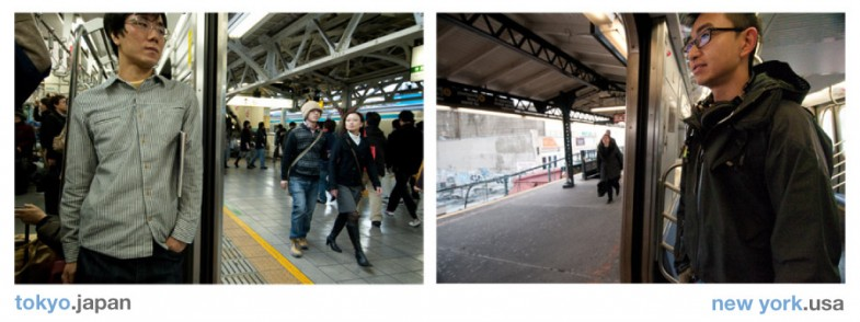 Project Transport Me Diptych: Tokyo, New York City - Photographs by Patrick Lydon