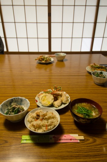 A natural agriculture lunch at Yamamoto Farm in Inashiki, Japan