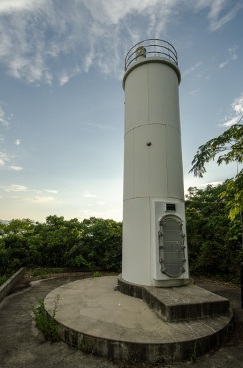 The un-manned Megijima lighthouse on the southern tip of the island