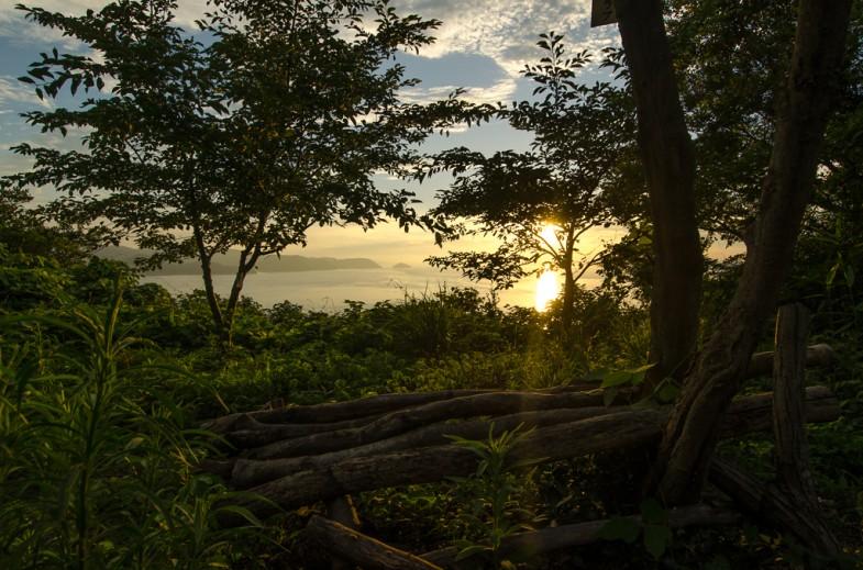 The secret Megijima sunset viewing spot.